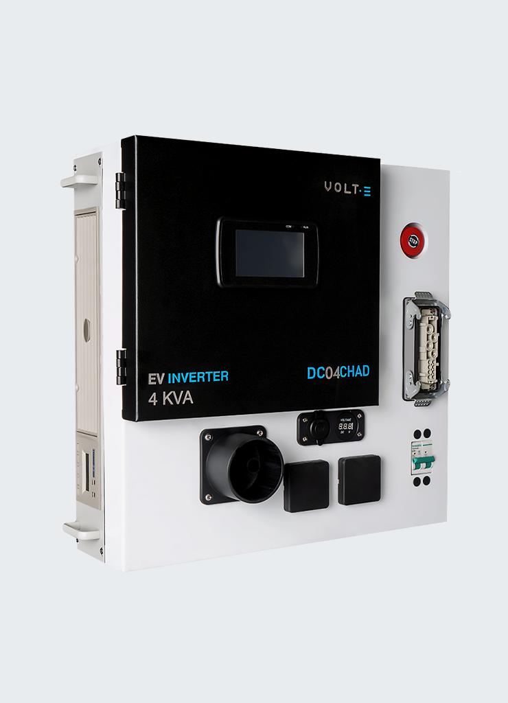DC04CHAD - CHAdeMO Vehicle to Home inverter & converter